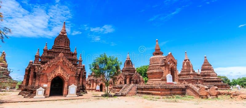 Vieux Bagan dans Bagan-Nyaung U, Myanmar photos libres de droits
