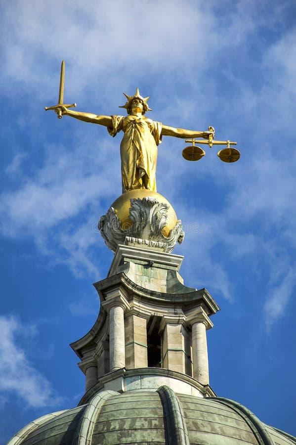 Vieux Bailey Central Criminal Court images libres de droits