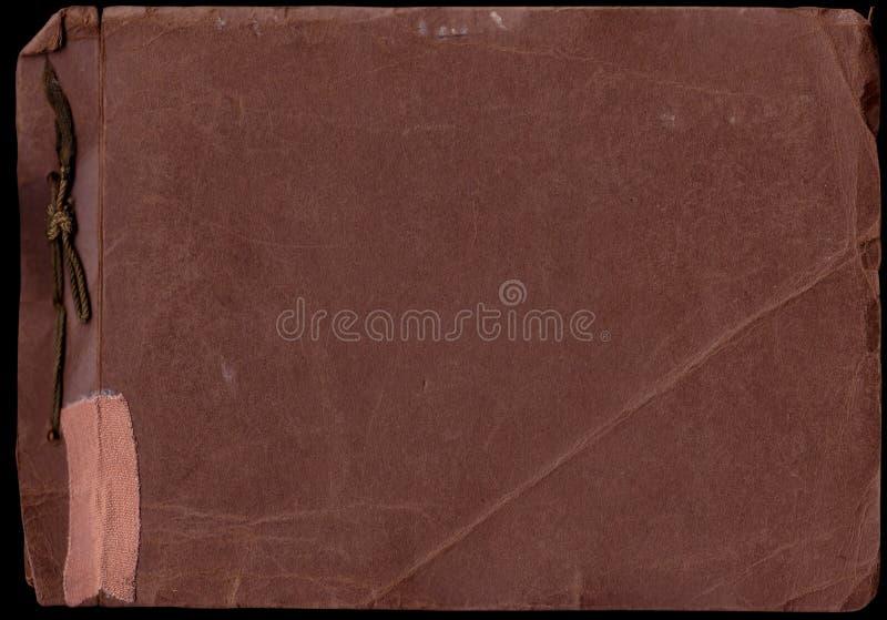 Vieux balayages d'album photos (chemins de découpage d'inc.) image libre de droits
