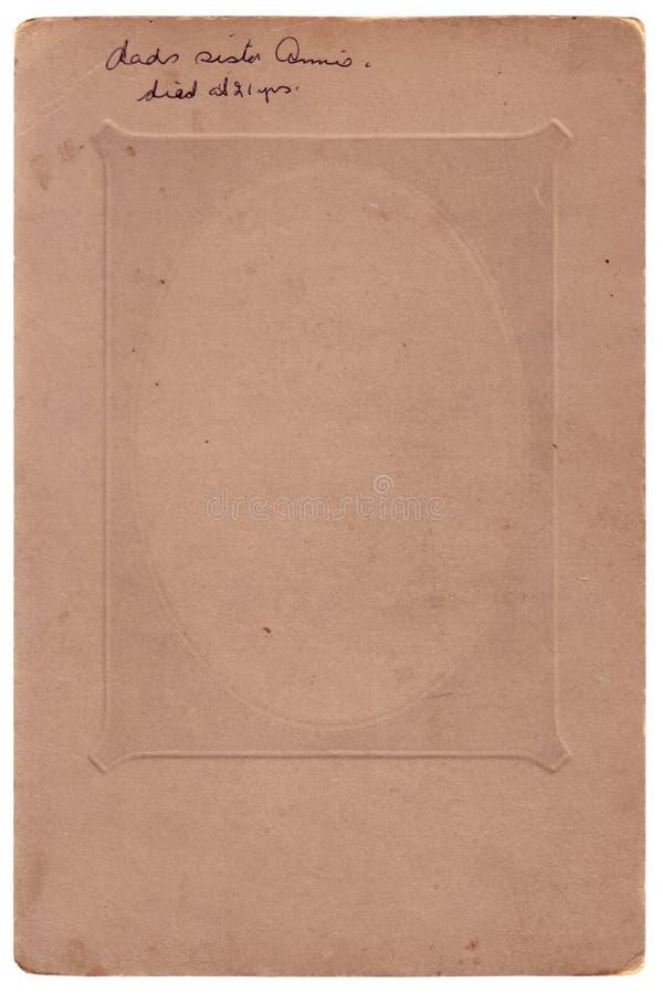 Vieux balayages d'album photos (chemins de découpage d'inc.) photographie stock