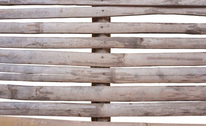 Vieux bambous de fente photos stock