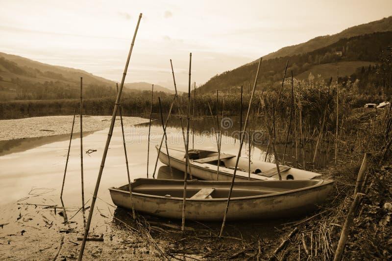 Vieux bateaux image stock