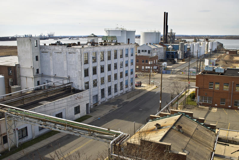 Vieux Bayonne, NJ image stock