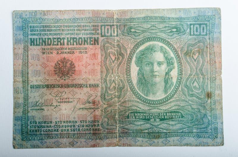 Vieux billets de banque allemands, argent images libres de droits