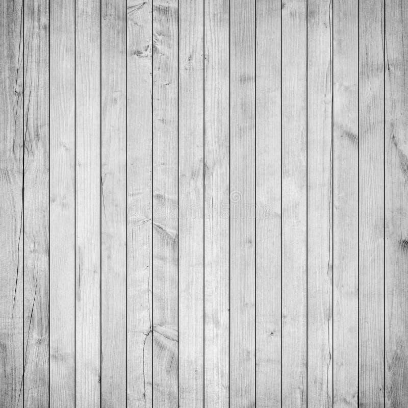 Vieux blanc, parquet en bois gris, table, ou surface de plancher Texture en bois avec les planches verticales photo stock
