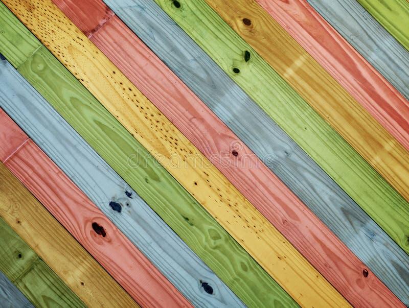 Vieux bois coloré de peinture photo libre de droits