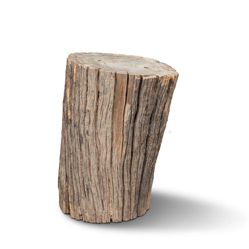 Vieux bois de rondin photos stock