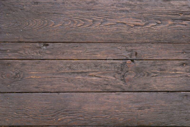 Vieux bois noble foncé images stock