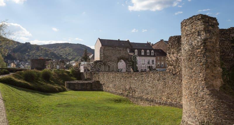 vieux boppard romain Allemagne de Castell image stock