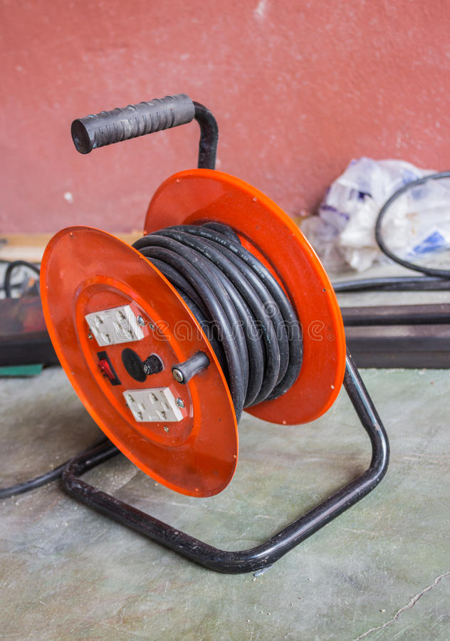 Vieux Câblage Photos libres de droits