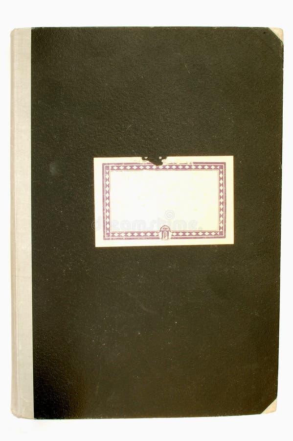 Vieux cache #2 de cahier image libre de droits