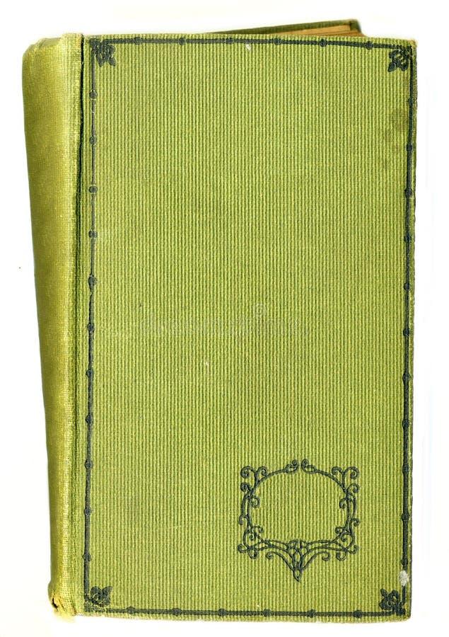 Vieux cache de livre rustique avec Decotative floral image libre de droits