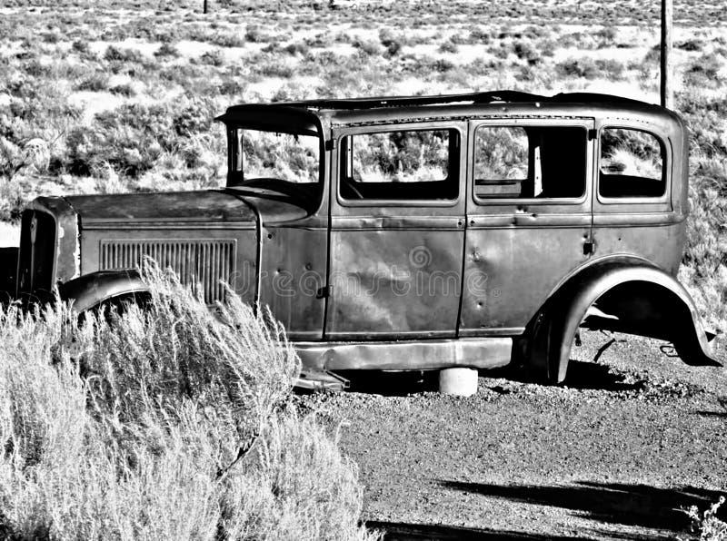 Vieux cadre de voiture photographie stock libre de droits