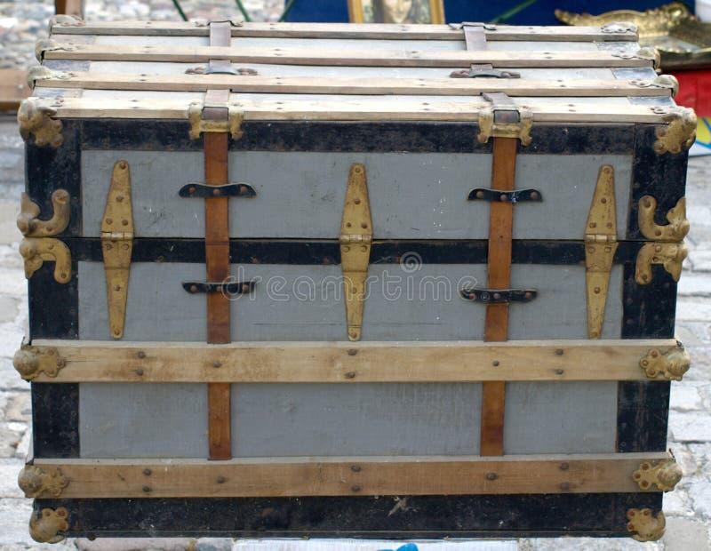 Vieux cadre en bois photographie stock