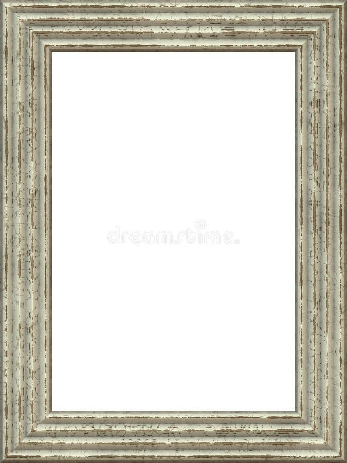 vieux cadre en bois de peinture illustration stock illustration du fan trame 50128745. Black Bedroom Furniture Sets. Home Design Ideas