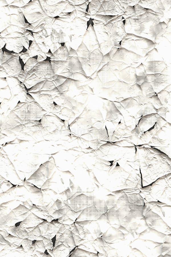 Vieux calibre de papier rayé illustration stock
