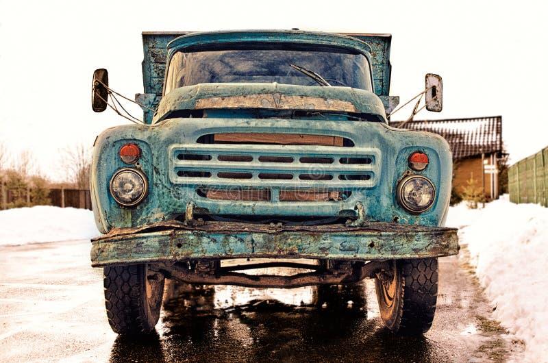 Vieux camion photo stock