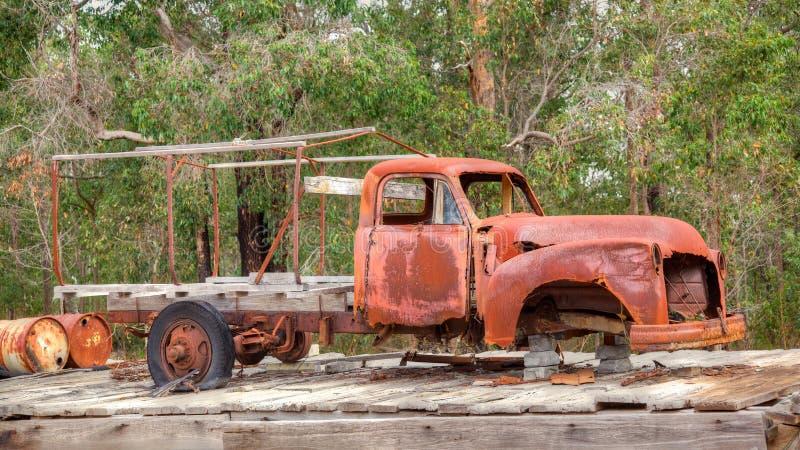 Vieux camion australien photo libre de droits