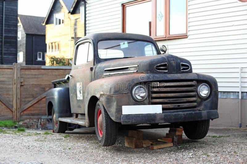 Vieux camion pick-up image libre de droits