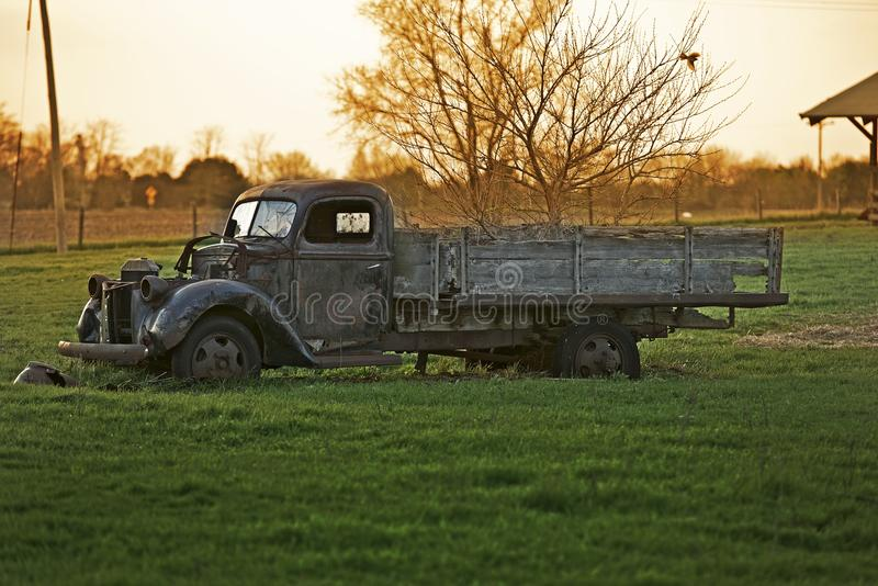 Vieux camion rustique image libre de droits
