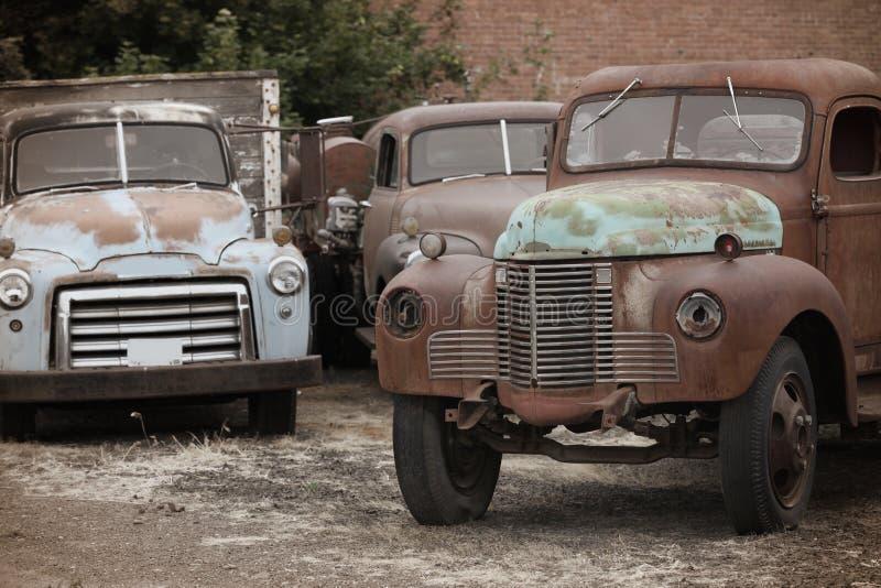 Vieux camions image libre de droits