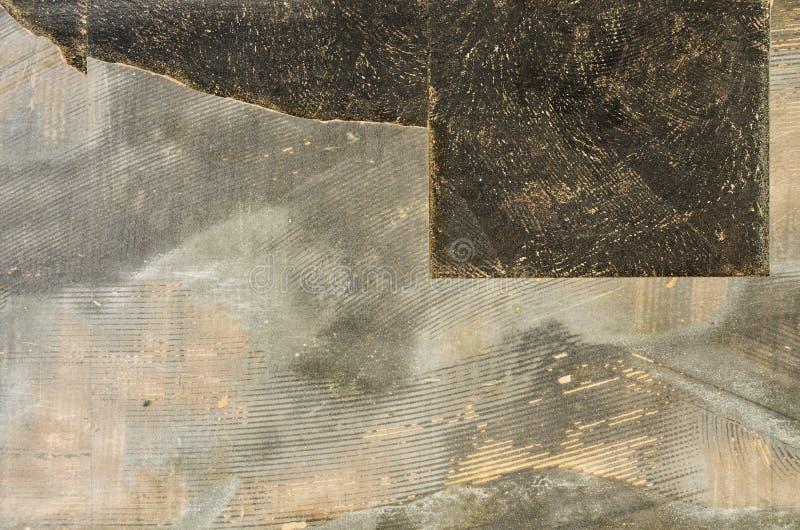 Vieux carrelages cassés photos stock