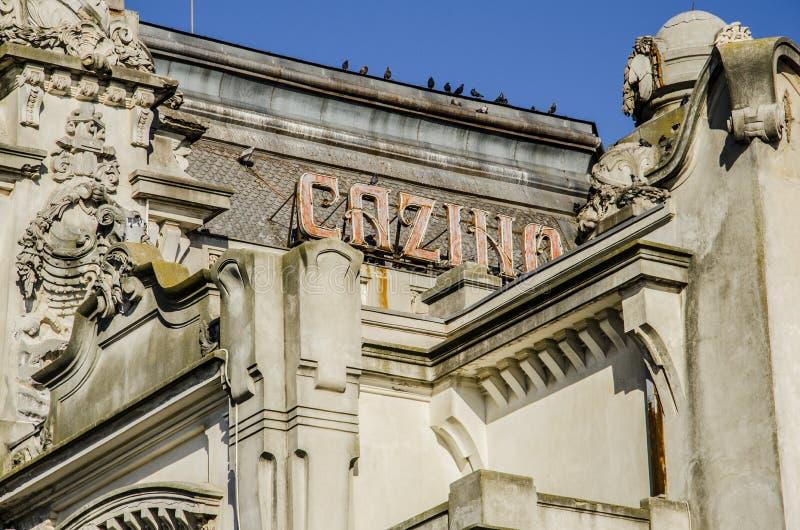 Vieux casino photographie stock libre de droits