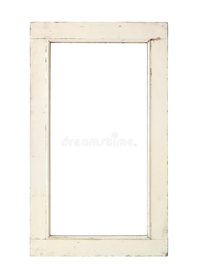 Vieux châssis de fenêtre photos libres de droits