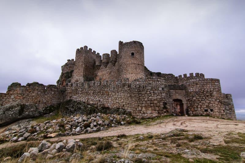 Vieux château abandonné à Avila. l'Espagne. image libre de droits