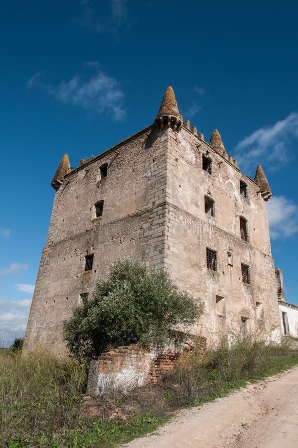 Vieux château abandonné image libre de droits