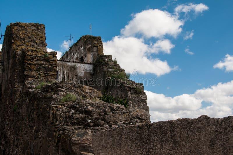 Vieux château abandonné photo stock