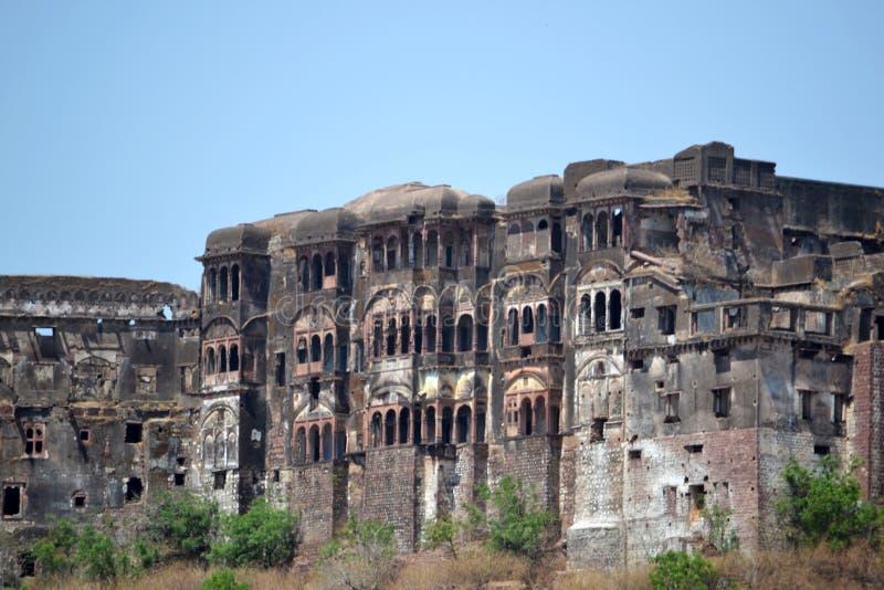 Vieux château de narsinghgarh, député britannique, Inde photo libre de droits