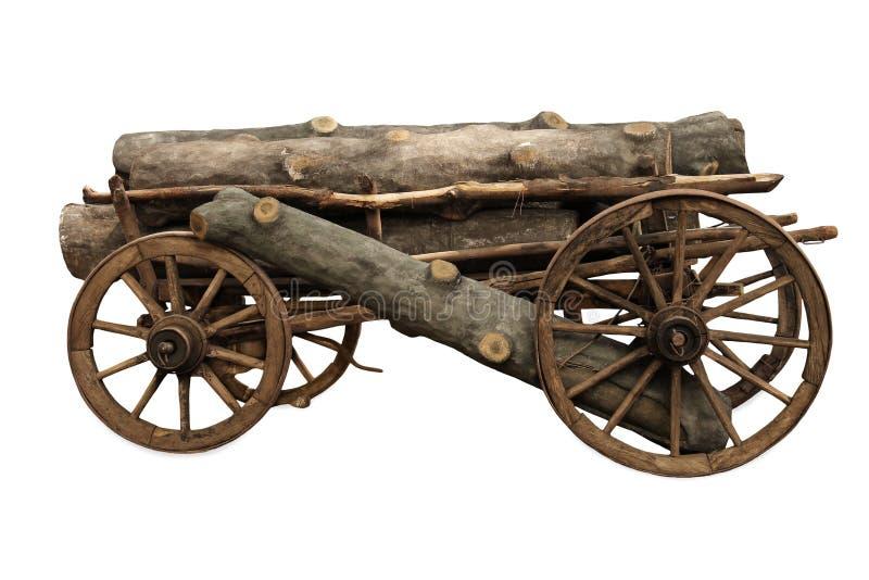 Vieux chariot photographie stock libre de droits