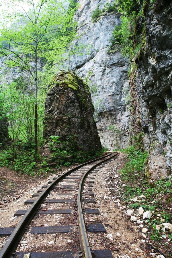 Vieux chemin de fer photos stock