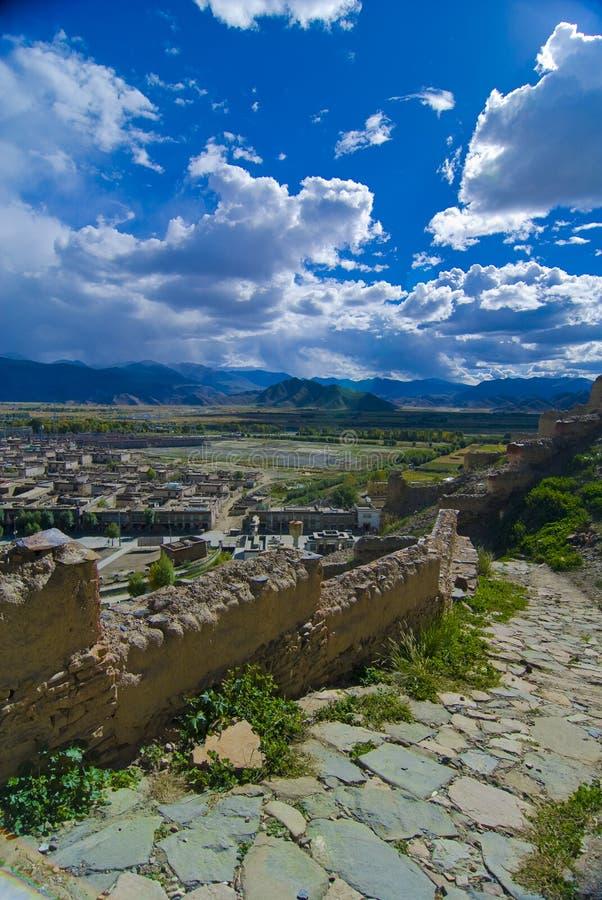 Vieux chemin de forteresse photo libre de droits