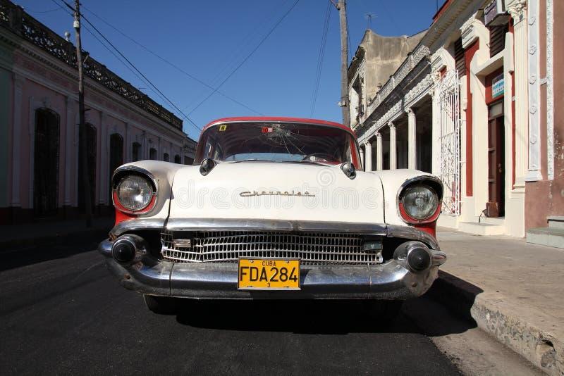 Vieux Chevrolet au Cuba images stock