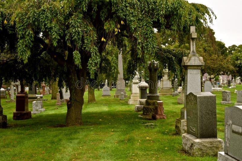 Vieux cimetière de St Boniface dans Chicago18 images stock