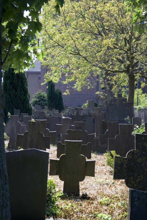 Vieux cimetière néerlandais photo libre de droits