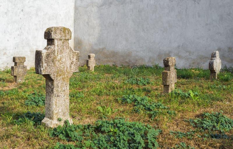 Download Vieux cimetière roumain photo stock. Image du spirituality - 45357462
