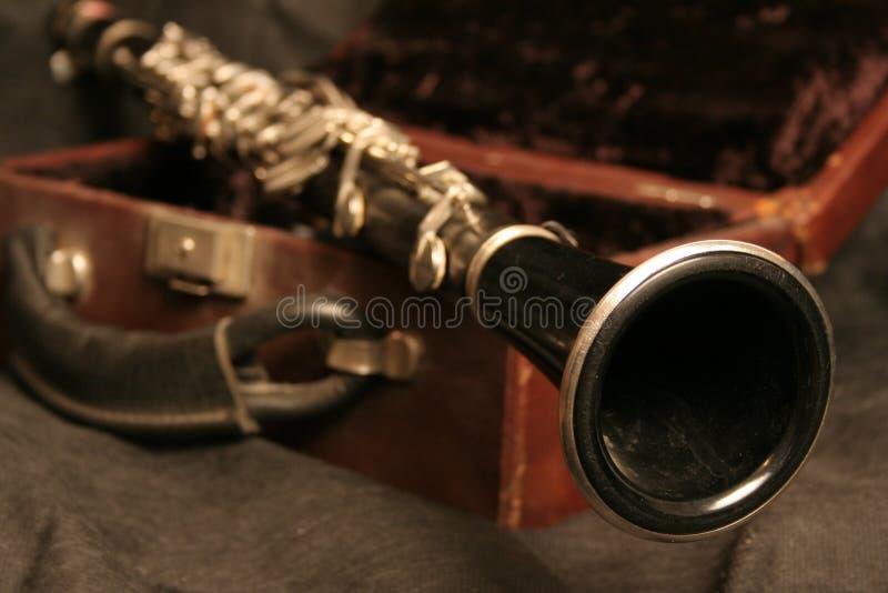 Vieux clarinet images stock