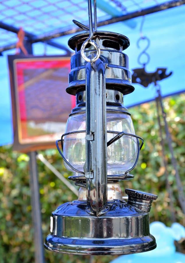 Vieux classique de lampe photographie stock