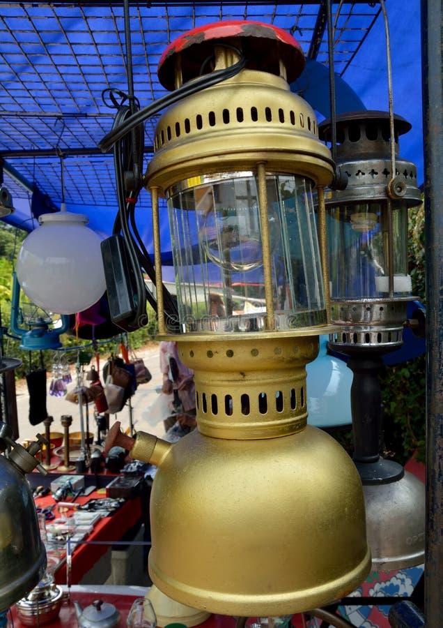 Vieux classique de lampe photos libres de droits