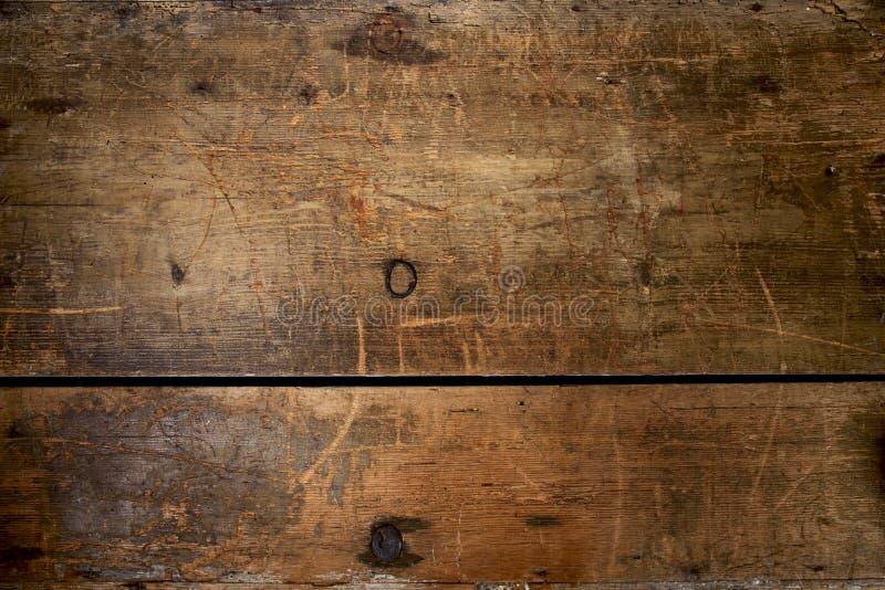 Vieux coffre grunge en bois énorme et beaucoup texturisé images libres de droits