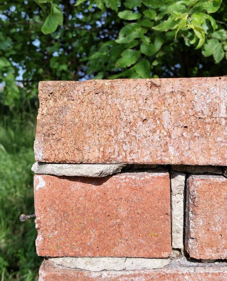Vieux coin de mur de briques photographie stock libre de droits