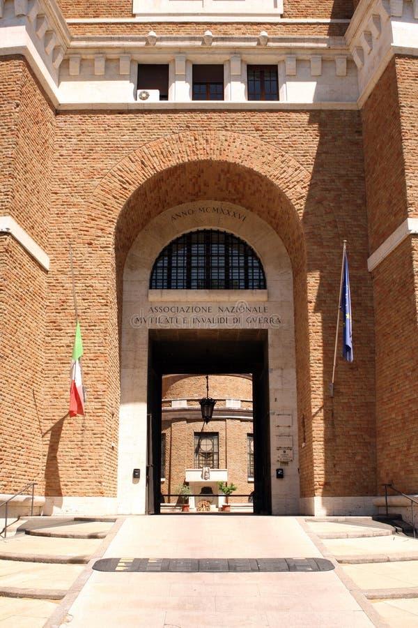 Vieux combattant construisant Rome Italie photo stock
