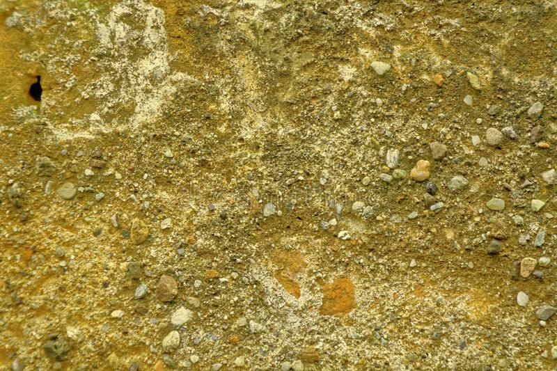 Vieux comme la texture ultra orange de Mars, fond de mur en pierre ou surface de roche - bonne pour le site Web ou les périphériq photos libres de droits