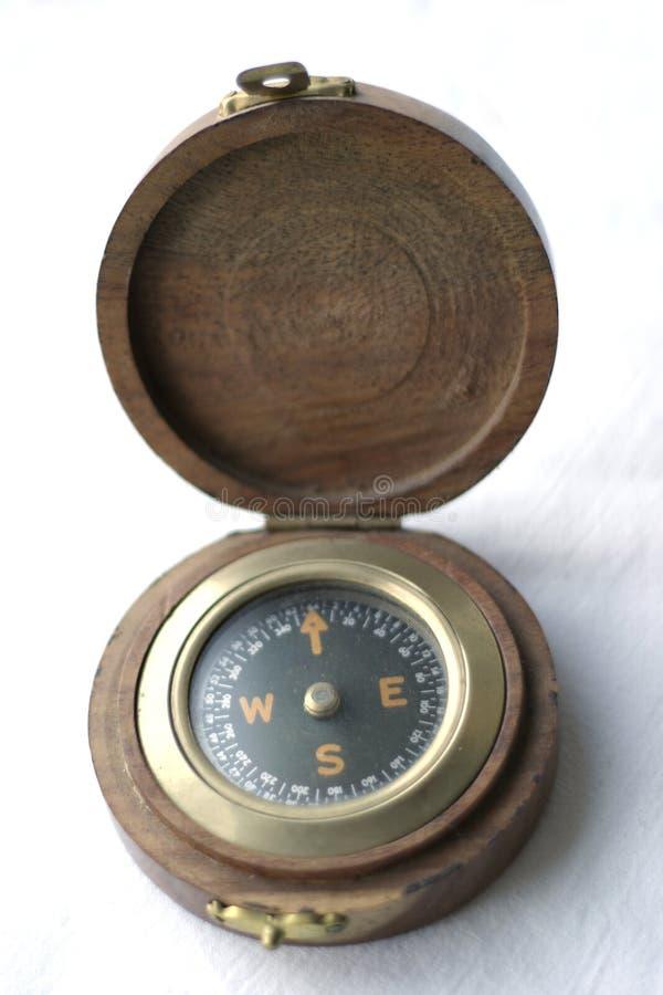 Vieux compas image stock