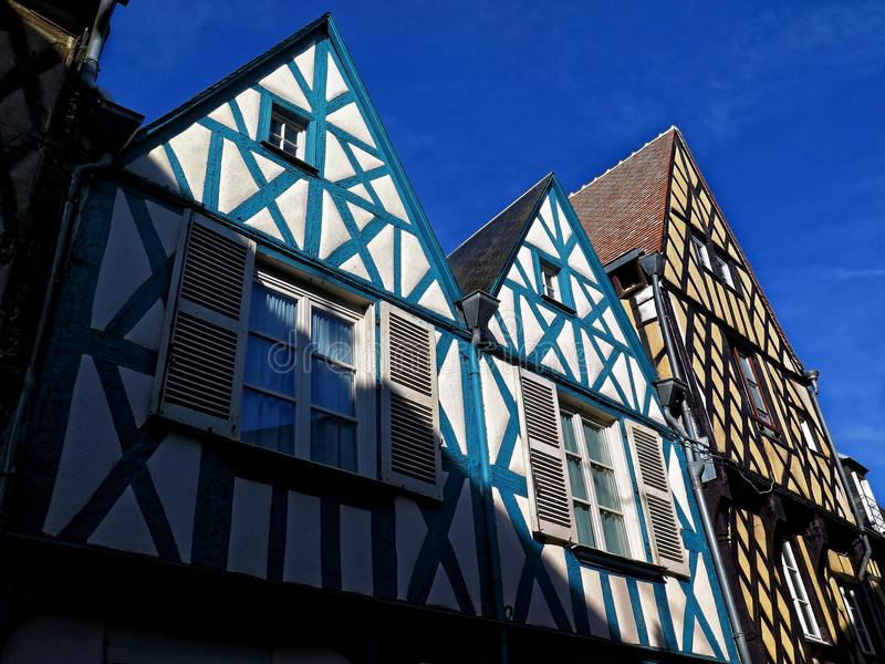 Vieux cottage français dans la Bretagne image libre de droits