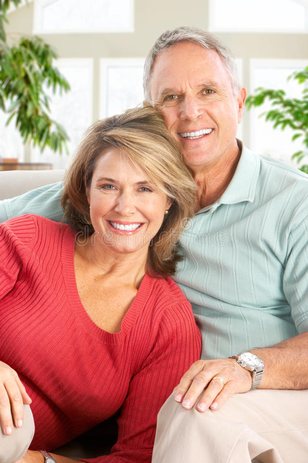 Vieux couples images libres de droits