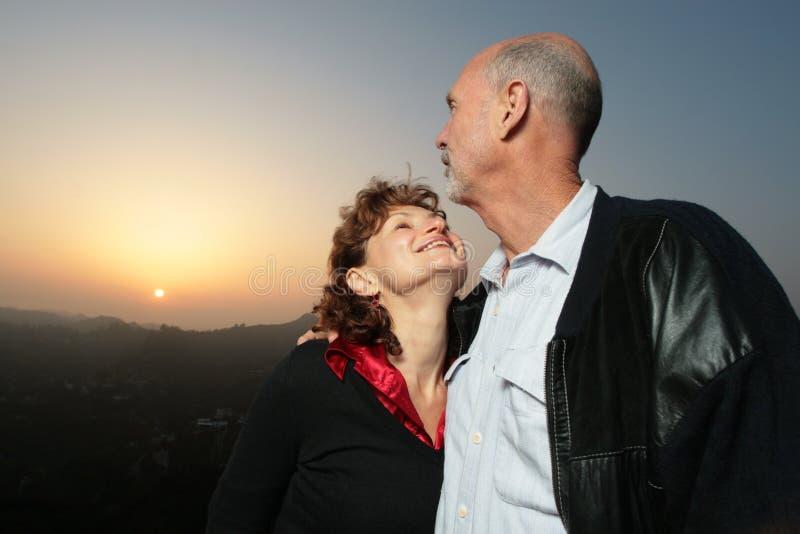 Vieux couples photos libres de droits
